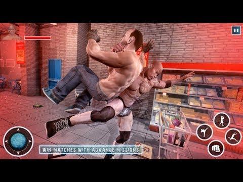 ► Grand Gangster vs WWE Superstar | Warriors Wrestling LA (MegaVision Games) Android Gameplay