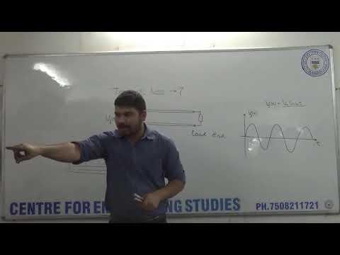 EMFT P2 # 1 Transmission lines Part 1