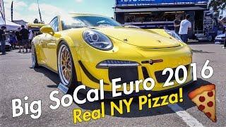 Big SoCal Euro 2016, Real New York Pizza!