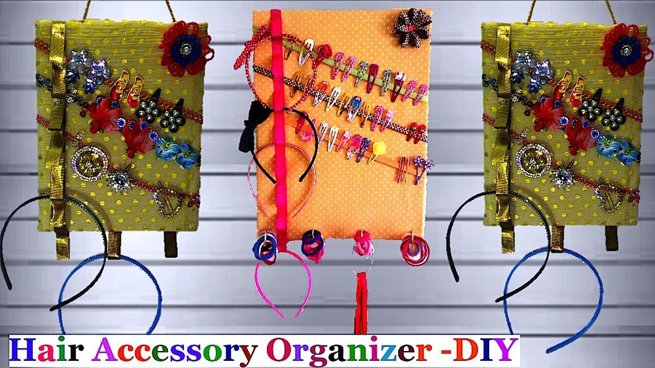 hair accessory organizer holder head band hair clips. Black Bedroom Furniture Sets. Home Design Ideas