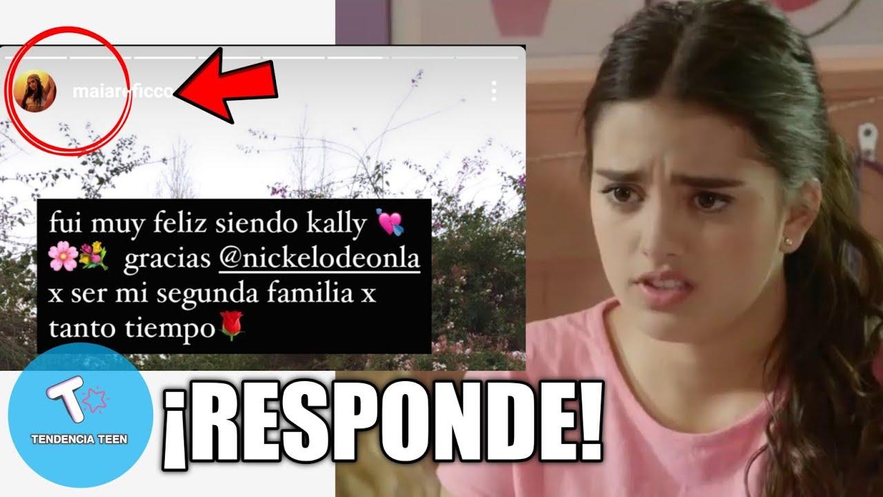 MAIA REFICCO RESPONDE A LOS FANS ENOJADOS POR KALLY'S MASHUP
