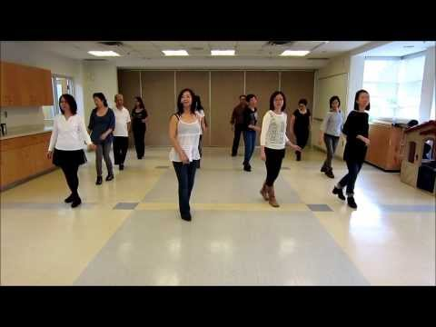 BLUE ROSE IS ( Line Dance ). - YouTube