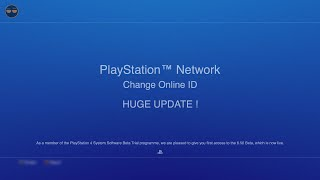 *HUGE PSN NAMECHANGE/CHANGE YOUR PSN GAMERTAG UPDATE* - PS4 update 6.50 (what is going on Sony?)