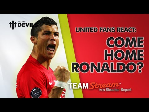 Ronaldo: Come Home? - Manchester United Fans React for Bleacher Report - 동영상