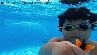 [열규홈] 2021년 수영장 다이빙 로케트 장난감 놀이…