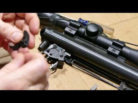 How to lighten the trigger pull on Benjamin NP2 air rifles