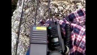 第19回UHF-CBオンエアミーティング 20151220 富士見岩(415 m)