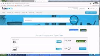 Hướng Dẫn Đăng Ký Và DNS Domain Freenom Về Hosting