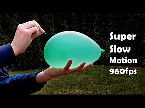 Samsung Galaxy S9+ super slow motion video 960fps