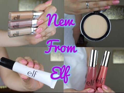 NEW ELF PRODUCTS   Liquid Eyeshadows, Lip Tints, Dewy Drops!