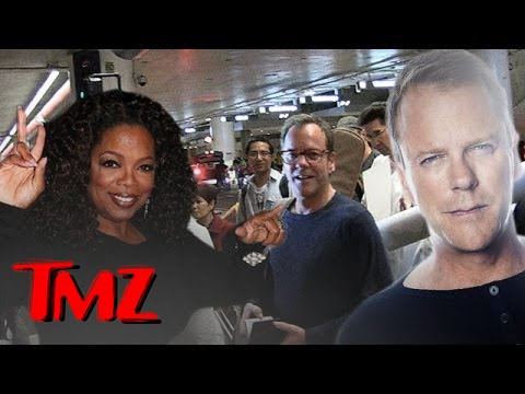Kiefer Sutherland and an Oprah Winfrey Presidency! | TMZ
