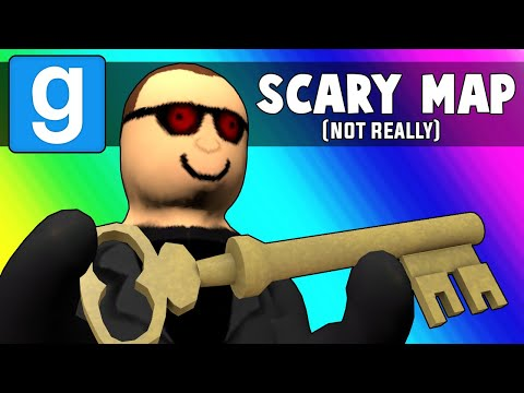 Gmod Scary Map Funny Moments - Dumb Playermodels, Dumb Key Map (Garry's Mod)
