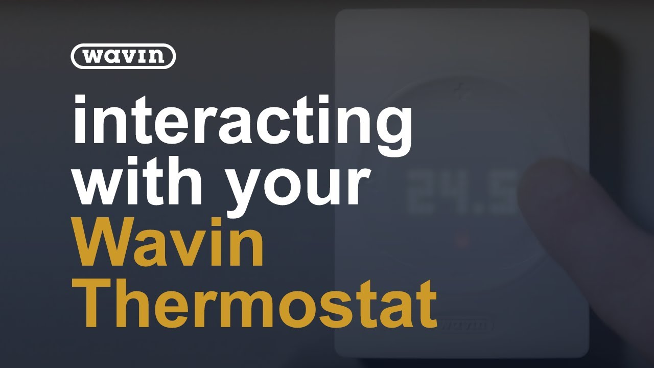 Interacting with your thermostat youtube interacting with your thermostat wavin uk cheapraybanclubmaster Choice Image