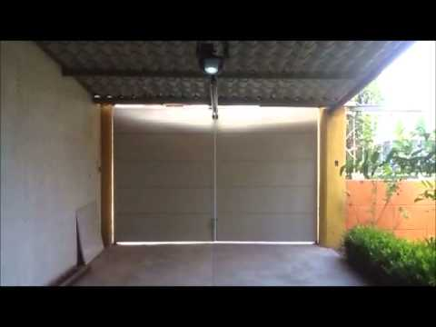 Automatizaci n de puerta abatible youtube - Automatizacion de puertas ...