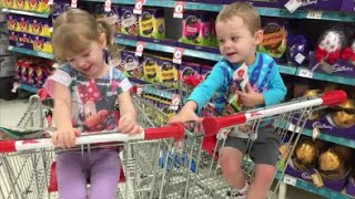 Countdown to Easter; Chocolate-less easter egg hunt and Easter crafts