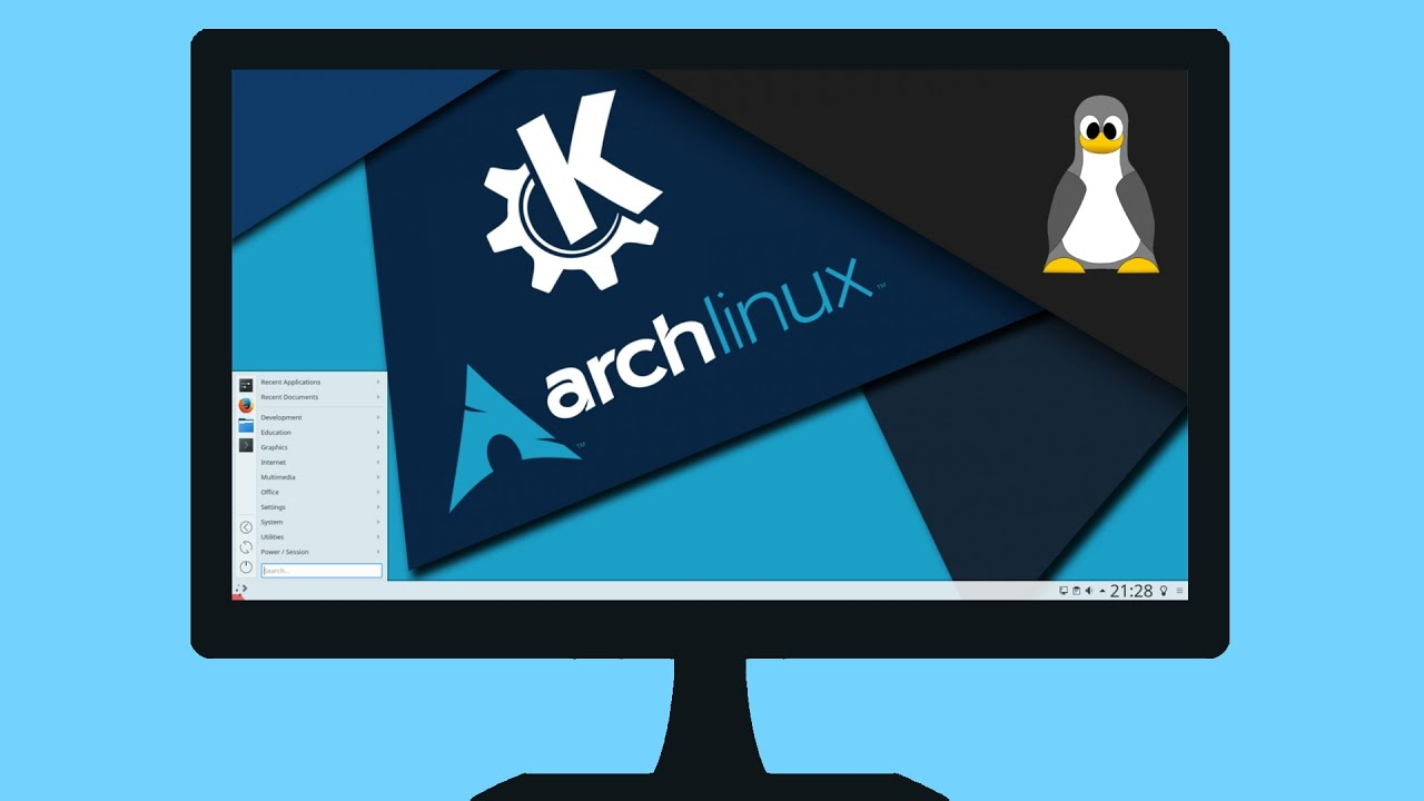 Plasma 5 on Arch Linux – install & configure
