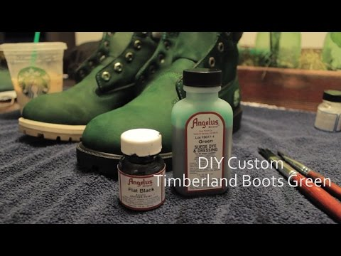 How To Dye Timberland Boots Angelus Direct Paint