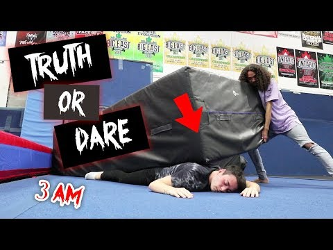 DO NOT PLAY TRUTH OR DARE AT 3 AM!! *I GOT CRUSHED*
