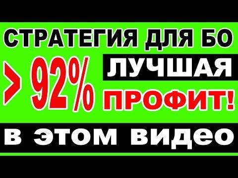 Стратегия для бинарных опционов по минутам с профитом от 92 % - Индексы РУЛЯТ