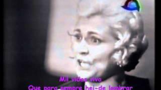16 - HEBE CAMARGO Homenageia Portugal cantando fado