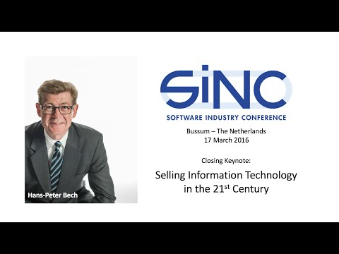 Software Industry Conference 2016 - Closing Keynote