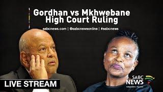 Gordhan vs Mkhwebane court ruling, 29 July 2019