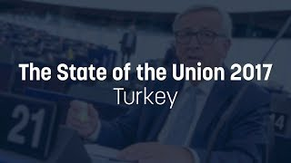 Juncker projects future EU enlargements, but not for Turkey - State of the Union 2017