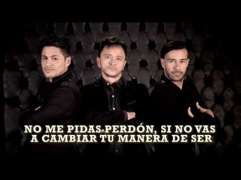 Para qué Pides Perdón (Video Lyrics) LOS TRI-O