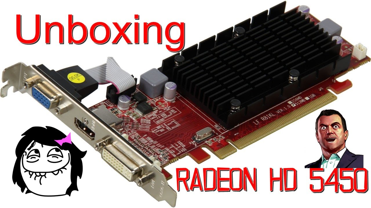 Unboxing da placa powercolor radeon hd 5450 1gb ddr3 youtube.