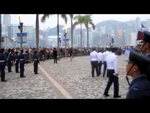 PIPE MAJOR of Hong Kong Auxiliary Police Force honour pipes