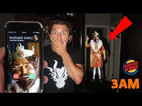 (MUST WATCH) DONT CALL BURGER KING AT 3AM *THIS IS WHY* THE BURGER KING CAME TO MY HOUSE AT 3AM
