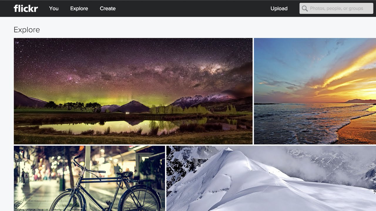 Flickr Photo Galleries - Adobe Muse Widget | MuseThemes com