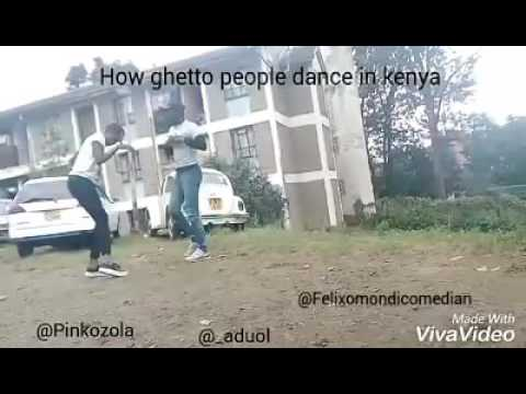 Is This Is Really How Kenyan Ghetto Kids Dance?