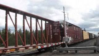 BNSF 5261 SB with BNSF 1779(SD40-2)