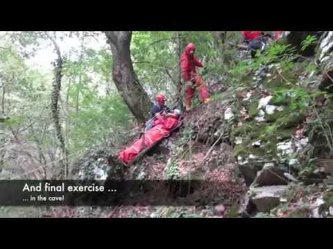 Cave Rescue Training - 2014, Serbia