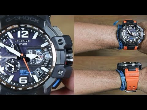 CASIO G-SHOCK GRAVITY MASTER GPW-1000-4A - UNBOXING