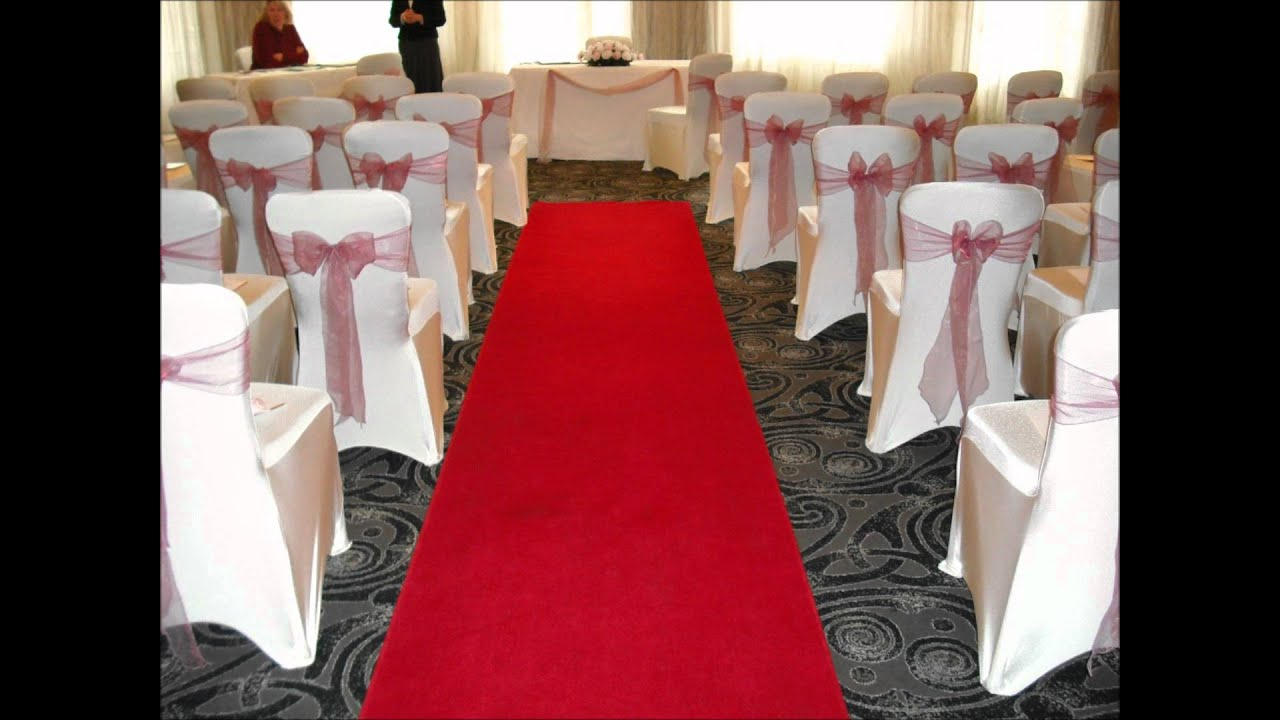 civil wedding ceremony room set ups.wmv - YouTube