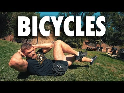 How to Perform Bicycles | Core Bodyweight Exercise Tutorial