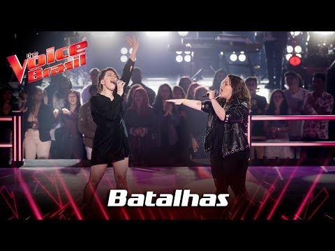Gika Bacci E Jennifer Rocha Cantam 'Signed, Sealed, Delivered I'm Yours' - The Voice Brasil
