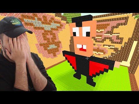 CELE MAI URATE CONSTRUCTII DE PE BUILD BATTLE - Minecraft