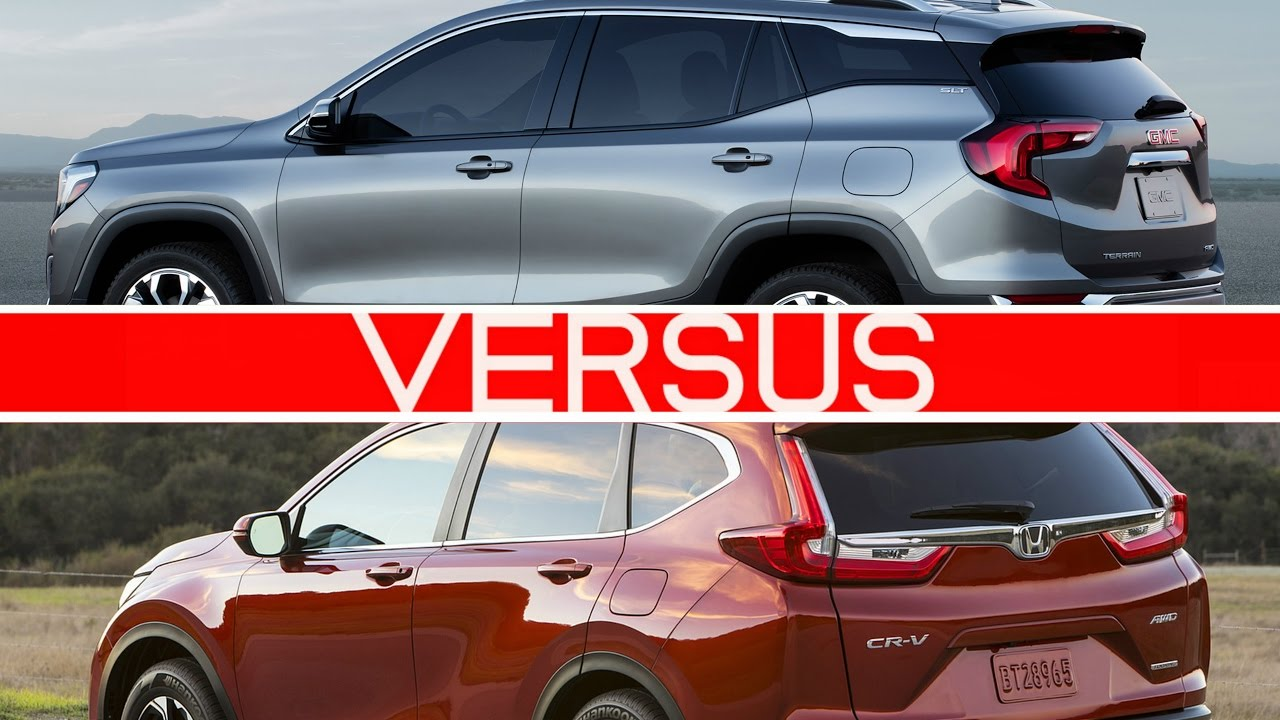 2018 GMC Terrain vs Honda CRV  YouTube