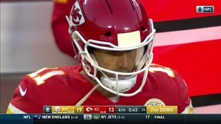 Alex Smith misses three wide open TDs. Chiefs lose to Steelers by six points.