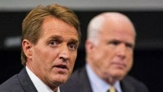 Flake, McCain defend press ahead of Trump's fake news awards