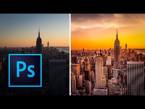 How To Add Clouds With Photoshop Brushes