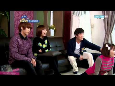 130226 Reckless Family S02 E21 (miss A Min & BTOB Minhyuk cuts 1/2)