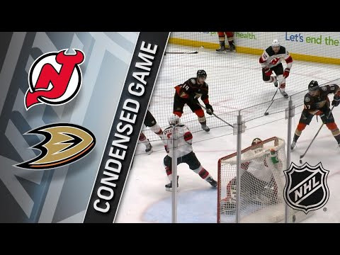 03/18/18 Condensed Game: Devils @ Ducks