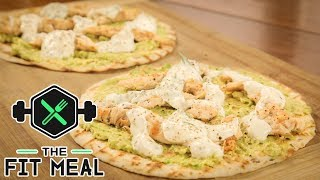 Fresh Wraps w/ Chicken & Avocado (High Protein, Macronutrients in video)