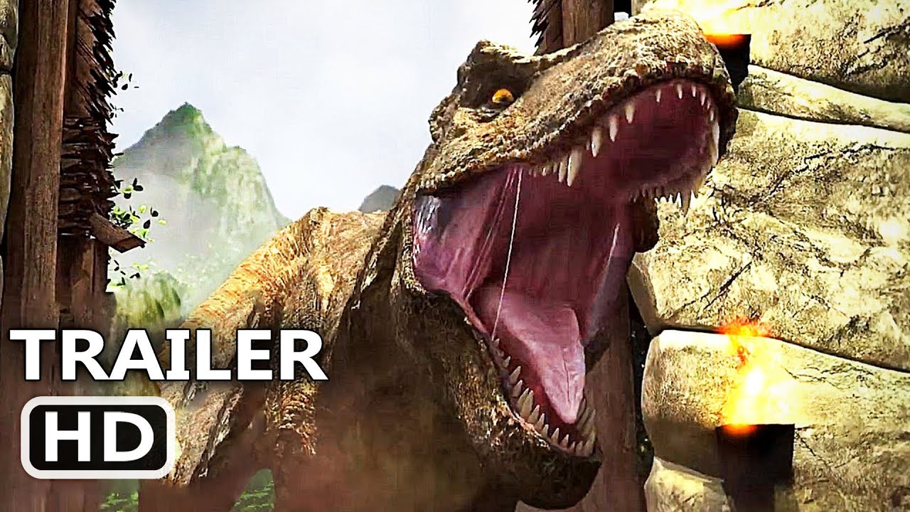 JURASSIC WORLD Camp Cretaceous Trailer (2020) Animated Series