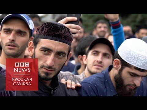 Митинг в Ингушетии: