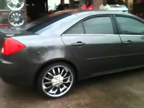 Pontiac G6 On 20z By Southside Rims Youtube